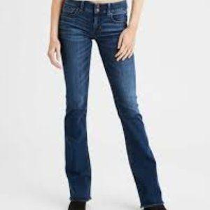 AEO Artist Flare Jeans 0 EUC